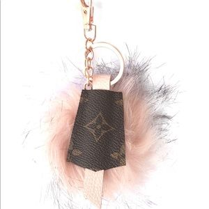 Accessories - Louis Vuitton Keychain from Auth Upcycle canvas